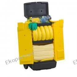 Zestaw mobilny KADDIE, sorbenty chemiczne - absorbcja 56 litrów Pozostałe