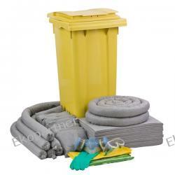 Zestaw mobilny WHEELY 120, sorbenty uniwersalne - absorbcja 112 litrów