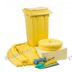 Zestaw mobilny WHEELY 120, sorbenty chemiczne - absorbcja 112 litrów