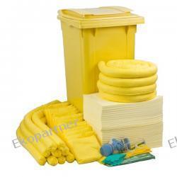 Zestaw mobilny WHEELY 240, sorbenty chemiczne - absorbcja 231 litrów