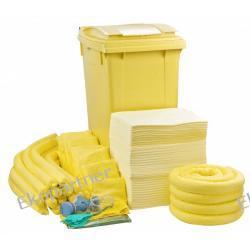 Zestaw mobilny WHEELY 360, sorbenty chemiczne - absorbcja 393 litry