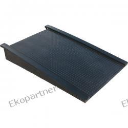 Rampa podjazdowa do platform roboczych, polietylenowych, czarna