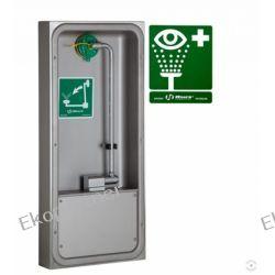 Oczomyjka, myjka do oczu i twarzy (LABO) montowana w szafce na ścianie, wylewka Axion MSR, otwarta, n/spraw Przemysł