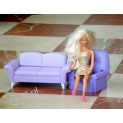 Barbie i mebelki
