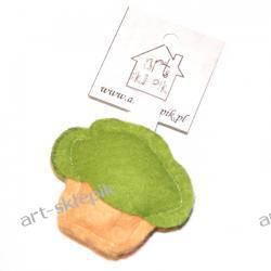 Breloczek Muffinka z filcu - P/002