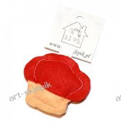 Breloczek Muffinka z filcu - P/003