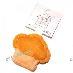 Breloczek Muffinka z filcu - P/004