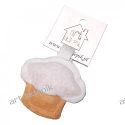 Breloczek Muffinka z filcu - P/005