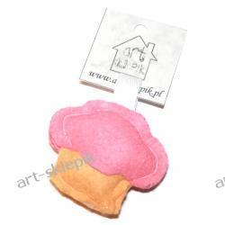Breloczek Muffinka z filcu - P/006