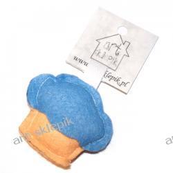 Breloczek Muffinka z filcu - P/008