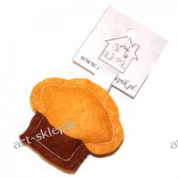Breloczek Muffinka z filcu - P/009