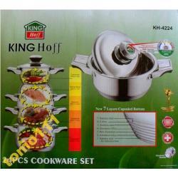 KING HOFF 4221 16 EL 7 WARSTW INDUKCJA CIĘŻKIE HQ