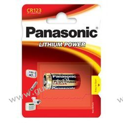 CR123A 3V Panasonic Baterie