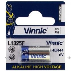 Vinnic 4LR44 / L1325F / 544A / A544 6.0V Akumulatory