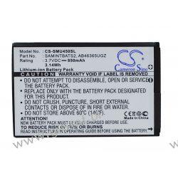 Samsung Intensity SCH-U450 / AB463651GZ 850mAh 3.14Wh Li-Ion 3.7V (Cameron Sino) Akcesoria i części