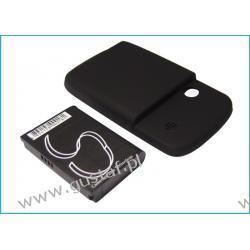 HTC Elf / ELF0160 2000mAh 7.40Wh Li-Ion 3.7V powiększony czarny (Cameron Sino) Akumulatory
