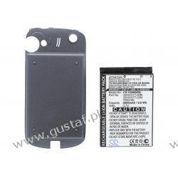 HTC Titan 100 / 35H00077-00M  2600mAh 9.62Wh Li-Ion 3.7V powiększony czarny (Cameron Sino) Akcesoria i części