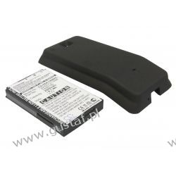 HTC Hero 100 / TWIN160 2200mAh 8.14Wh Li-Ion 3.7V powiększony czarny (Cameron Sino) Części i akcesoria