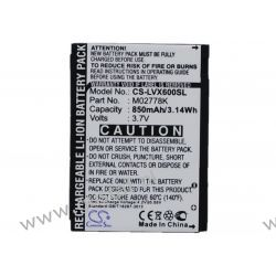 LG LX600 / LGIP-490A 850mAh 3.15Wh Li-Ion 3.7V (Cameron Sino) Ładowarki