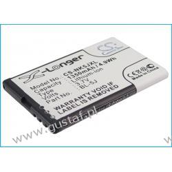 Nokia 5800 / BL-5J 1350mAh 4.99Wh Li-Ion 3.7V (Cameron Sino Nokia