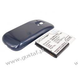 Samsung Galaxy S III Mini / EB-F1M7FLU 3000mAh 11.40Wh Li-Ion 3.7V powiększony niebieski (Cameron Sino) Pozostałe