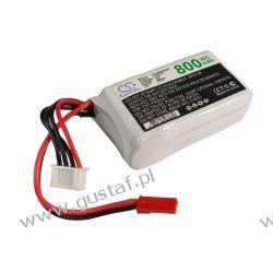 800mAh 8.88Wh Li-Polymer 11.1V 3S 30C (Cameron Sino)