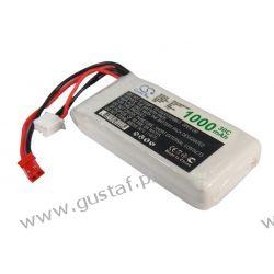 1000mAh 7.40Wh Li-Polymer 7.4V 2S 30C (Cameron Sino) Akcesoria
