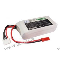 1000mAh 11.10Wh Li-Polymer 11.1V 3S 30C (Cameron Sino) Akumulatory