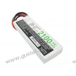 2100mAh 15.54Wh Li-Polymer 7.4V 2S 30C Deans / T-Plug AWG14 (Cameron Sino) Asus