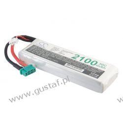 2100mAh 15.54Wh Li-Polymer 7.4V 2S 30C Mini Tamiya (Cameron Sino)