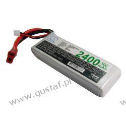 2400mAh 17.76Wh Li-Polymer 7.4V 2S 30C (Cameron Sino)