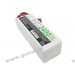 2400mAh 35.52Wh Li-Polymer 14.8V 4S 30C (Cameron Sino)