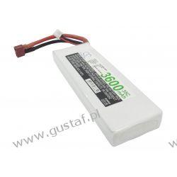 3600mAh 26.64Wh Li-Polymer 7.4V 2S 35C (Cameron Sino)