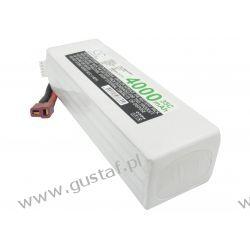 4000mAh 59.20Wh Li-Polymer 14.8V 4S 35C (Cameron Sino) Ładowarki
