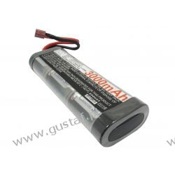 3000mAh 21.60Wh Ni-MH 7.2V 6S SC Deans / T-Plug (Cameron Sino)