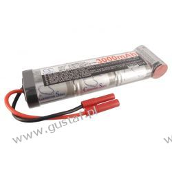 3000mAh 25.20Wh Ni-MH 8.4V 7S SC Gold Plug (Cameron Sino)