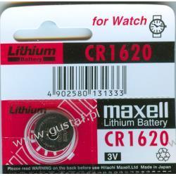 CR1620 Maxell 3.0V Pozostałe