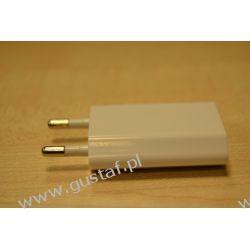 Ładowarka sieciowa USB 1A biała (gustaf) Sieciowe