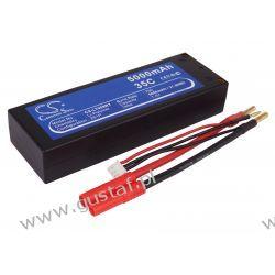 5000mAh 37.00Wh Li-Polymer 7.4V 2S 35C (Cameron Sino) Akcesoria i części