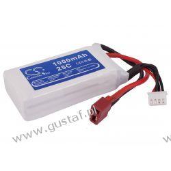 1000mAh 11.10Wh Li-Polymer 11.1V 3S 15C (Cameron Sino) Inni producenci