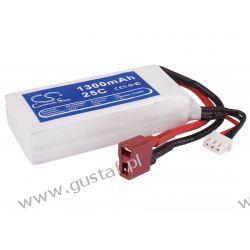 1300mAh 9.62Wh Li-Polymer 7.4V 2S 25C (Cameron Sino) Pozostałe