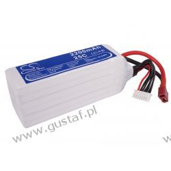 2200mAh 48.84Wh Li-Polymer 22.2V 6S 25C (Cameron Sino) Akcesoria