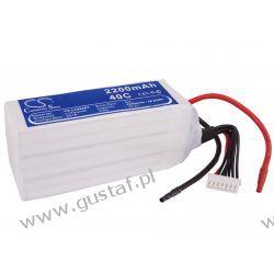 2200mAh 48.84Wh Li-Polymer 22.2V 6S 40C (Cameron Sino) Pozostałe