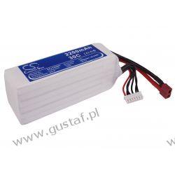 2200mAh 48.84Wh Li-Polymer 22.2V 6S 30C (Cameron Sino) Głośniki przenośne