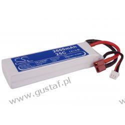 2600mAh 19.24Wh Li-Polymer 7.4V 2S 25C (Cameron Sino) Inni producenci