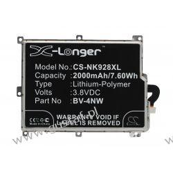 Nokia Lumia 928 / BV-4NW 2000mAh 7.60Wh Li-Polymer 3.8V (Cameron Sino) Nokia
