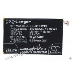 Alcatel Hero N3 / TLp034B2 3400mAh 12.92Wh Li-Polymer 3.8V (Cameron Sino) Pozostałe