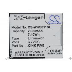 Wiko Cink Five 2000mAh 7.40Wh Li-Ion 3.7V (Cameron Sino) Głośniki przenośne