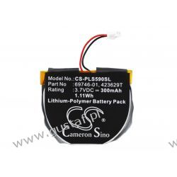 Plantronics Pulsar 590 / 423629T 300mAh 0.89Wh Li-Polymer 3.7V (Cameron Sino) HP, Compaq