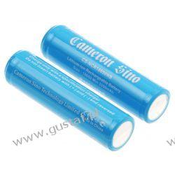 2x akumulator 18650 3400mAh 12.58Wh Li-Ion 3.7V z zabezpieczeniem PCM ogniwo Panasonic NCR18650B (Cameron Sino) Dell